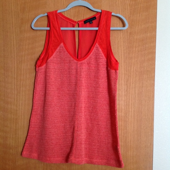 Sanctuary Tops - Sanctuary knitted sleeveless top, size L